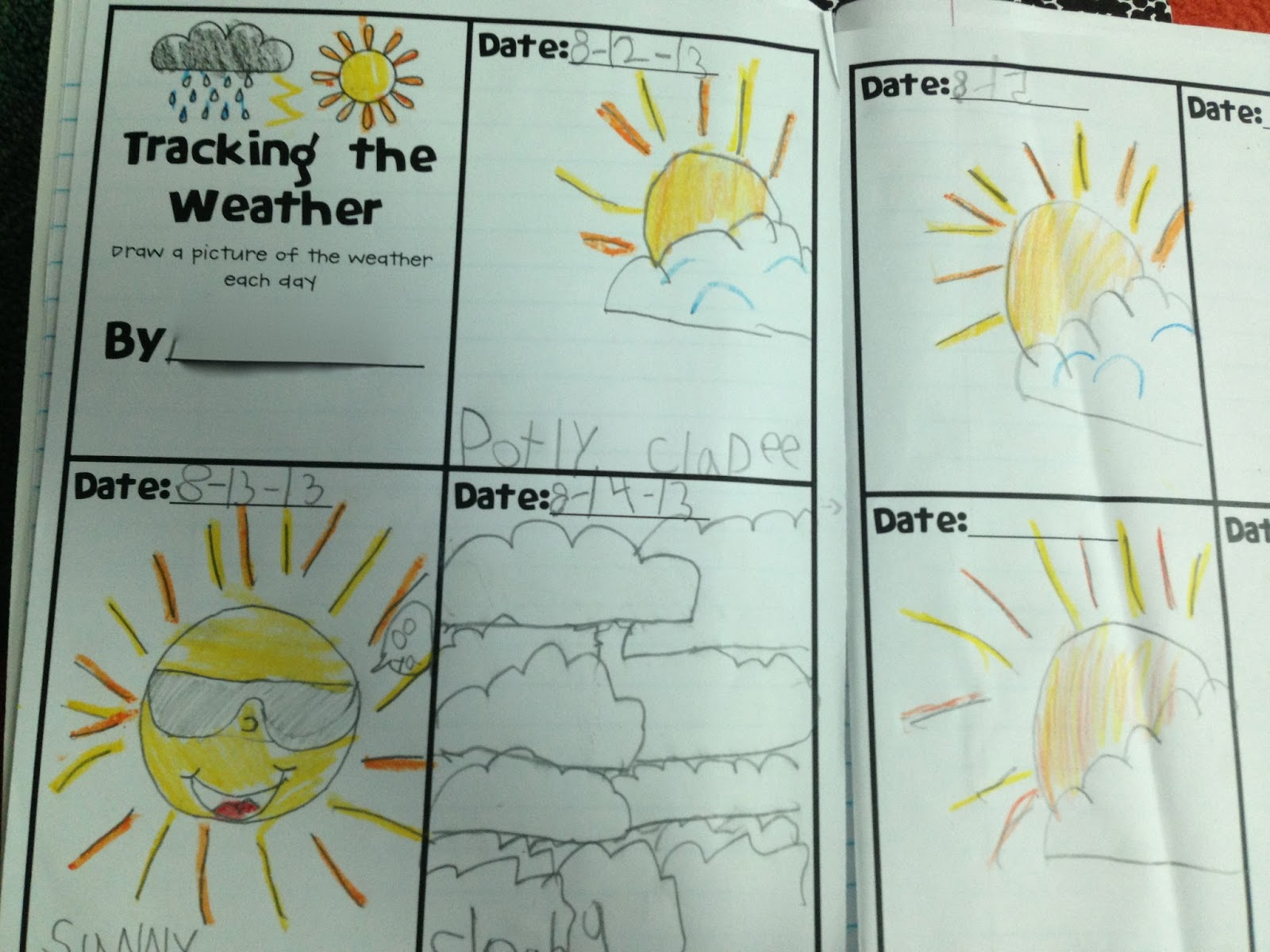 The Adventures Of A K 1 Teacher Weather And The Four Seasons