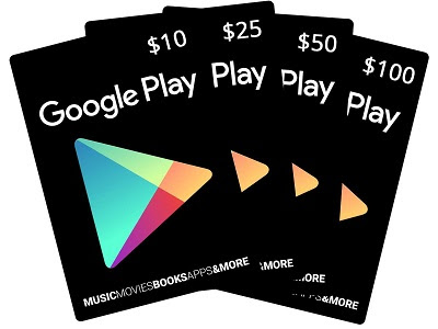 Google Play Store Gift Codes Free