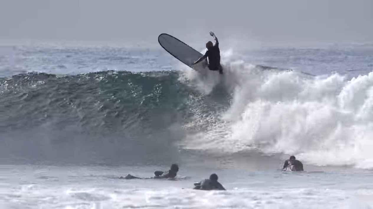 Surfing near PERFECT MALIBU
