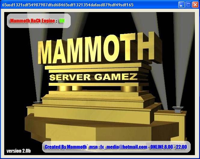 [~Zone-Hack-Pro-Game~]ฟรีโปรเกมส์ โปรSF โปรXSHOT โปรPB ... Mammothz Sf