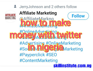 how to make money on twitter in nigeria