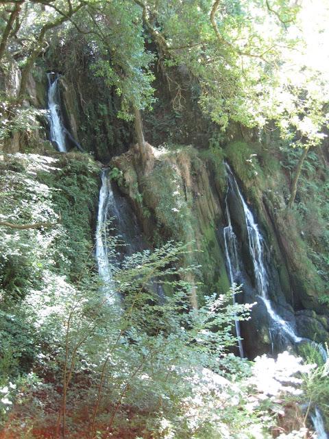 Cascada de Rego da Palanca en Aranga