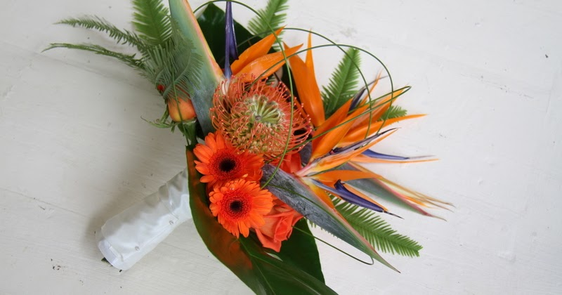 The Flower Magician Bird Of Paradise Wedding Bouquet