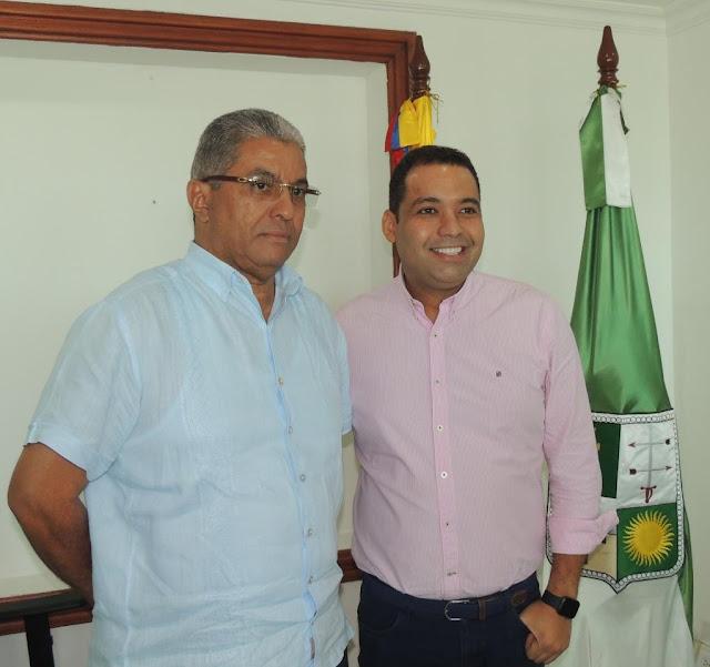 Gobernadores, electo y encargado de La Guajira, se reunieron en el Palacio de La Marina