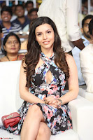 Kyra Dutta in a Deep neck Small Dress at Shamanthakamani pre release function ~  Exclusive 002.JPG