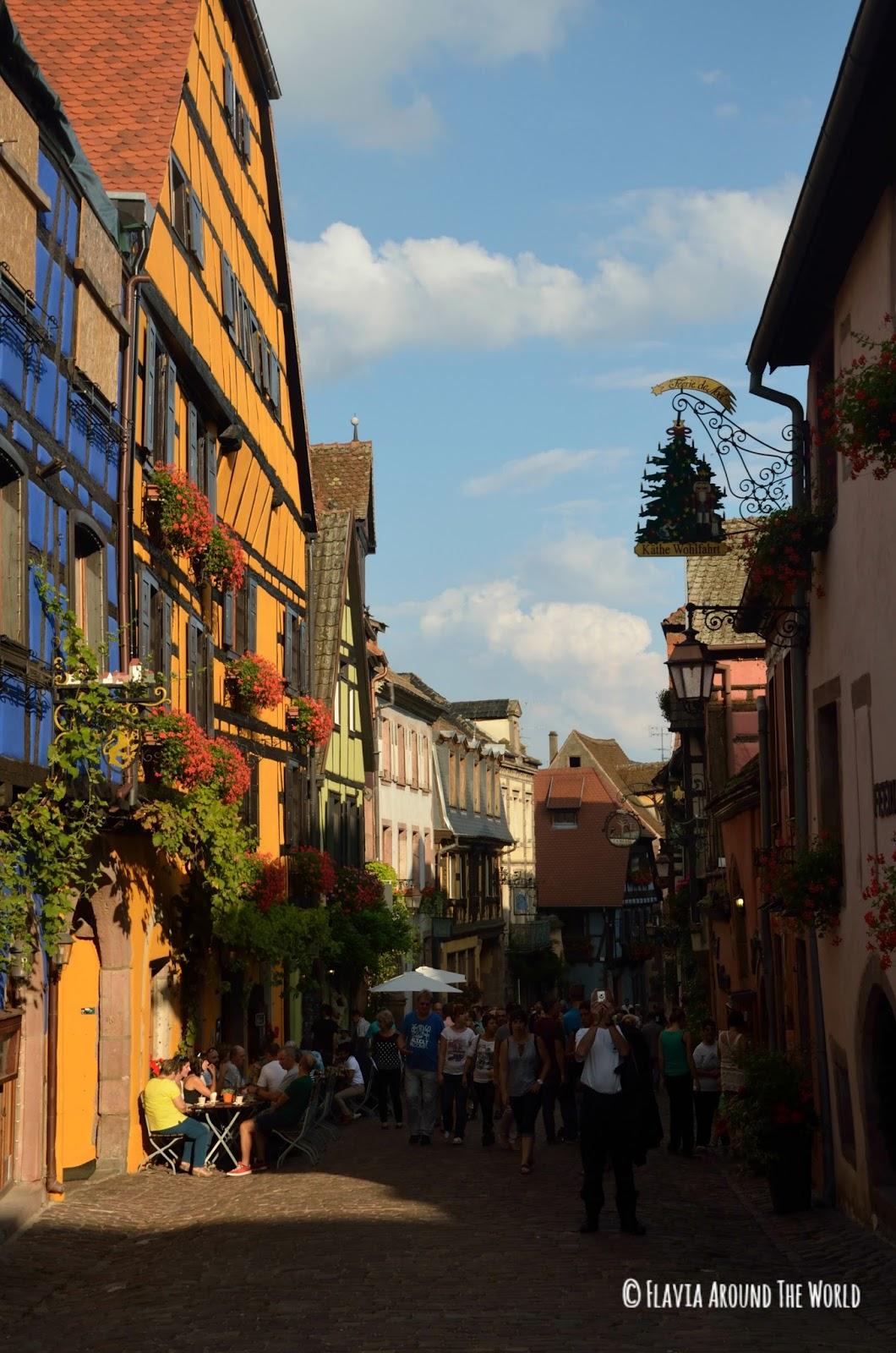 Calle principal de Riquewihr