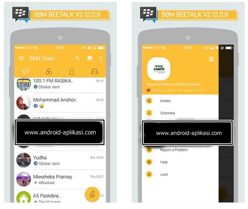 android: Mod BBM Beetalk V2 12 0 9 Apk   15 4 Mb