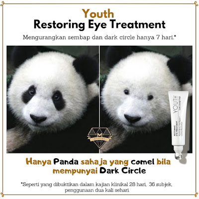 YOUTH Restoring Eye Treatment Untul Dark Circle