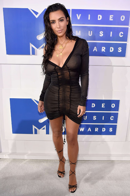Kim Kardashian – 2016 MTV Video Music Awards in New York City