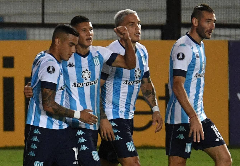 Racing consiguió una valiosa victoria ante Sporting Cristal en Avellaneda