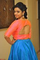 Nithya Shetty in Orange Choli at Kalamandir Foundation 7th anniversary Celebrations ~  Actress Galleries 056.JPG