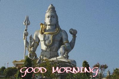 good morning god shiva images