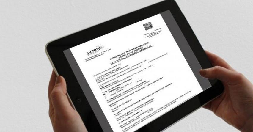 SUNARP reporta nuevo aumento en la emisión de publicidad registral necesaria para actividades del sector inmobiliario - www.sunarp.gob.pe