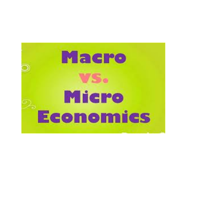 Explain, Difference between microeconomics and macroeconomics