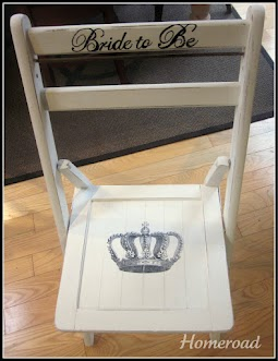 bride to be chair