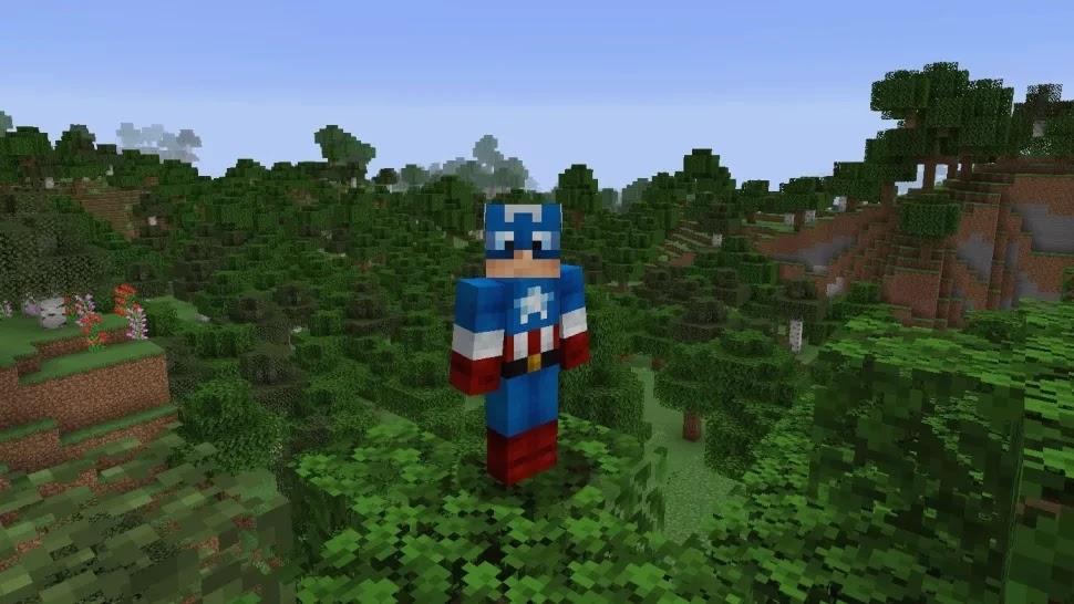 سكن كابتن أمريكا