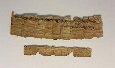 AIA anuncia hallazgo de documento extra-bíblica, escrita en la antigua escritura hebrea se remonta al siglo 7 antes de Cristo.