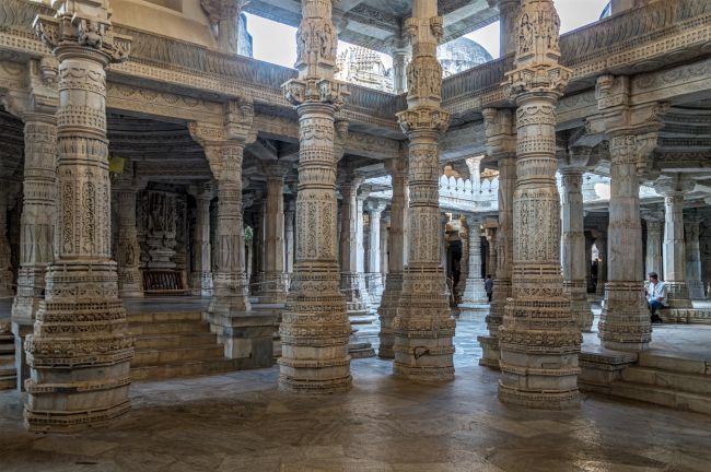 The Famous Pillars of Ranakpur Jain Temple