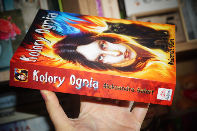 """Kolory ognia"" Alksandra Galert [PATRONAT MEDIALNY]"