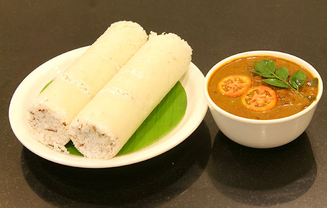 Pattu with Kadala curry