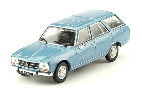 Peugeot 504 Break 1980 1:43, autos inolvidables argentinos 80 90