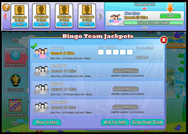 Bingo Bash Jackpot Team