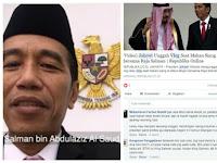 Jokowi Ngrekam Raja Arab yang Sedang Makan, Netizen: Gak Ada Etika Sama Sekali