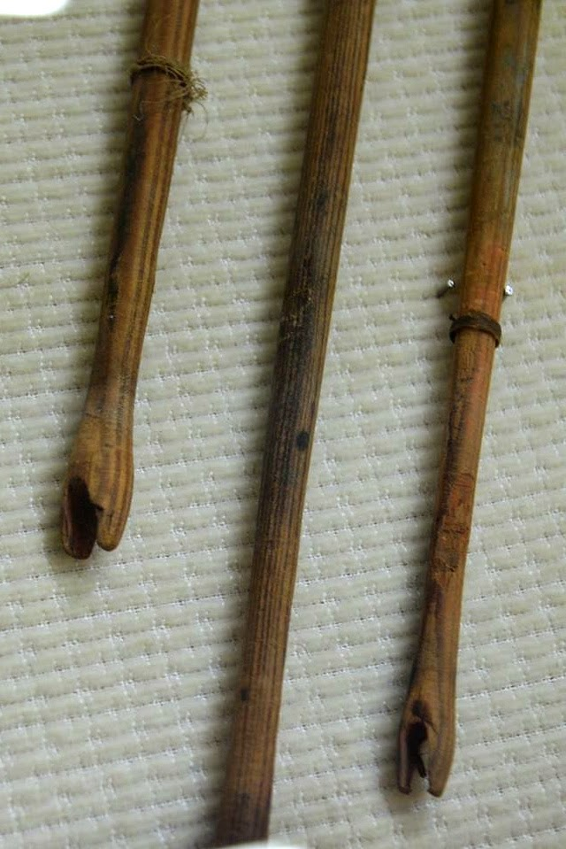 ARROW SHAFTS FROM VENETIAN CRETE