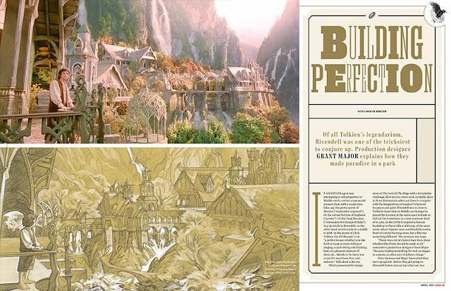 Quando Harry conheceu Frodo: veja os detalhes da edição da Empire com Daniel Radcliffe e Elijah Wood | Ordem da Fênix Brasileira