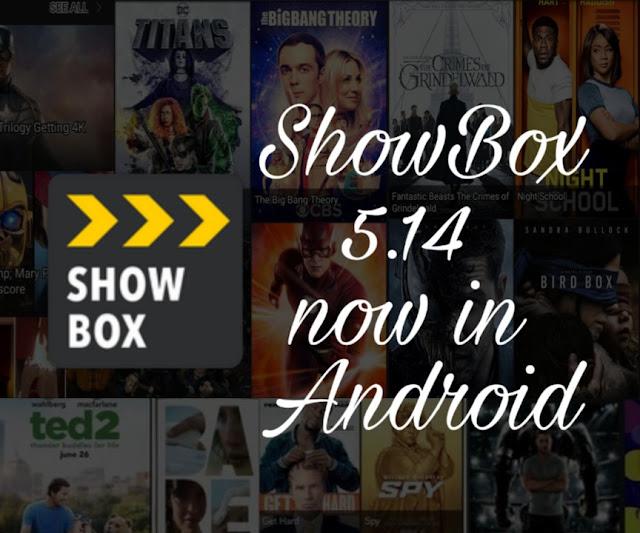 Showbox APK 5.14 Download