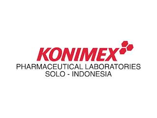 Lowongan Pekerjaan Online PT Konimex Pharmaceutical Laboratories