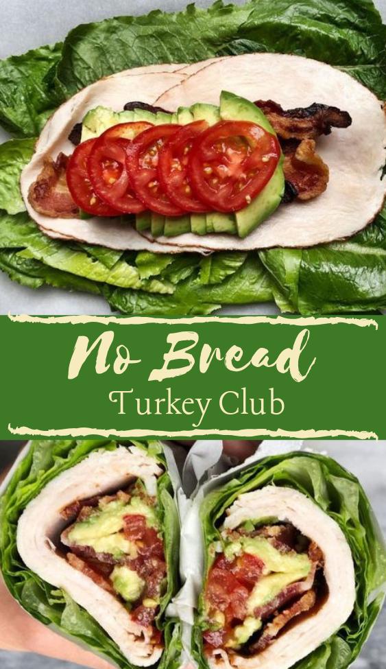 No Bread Turkey Club #whole30 #diet #paleo #healthyrecipe #turkey