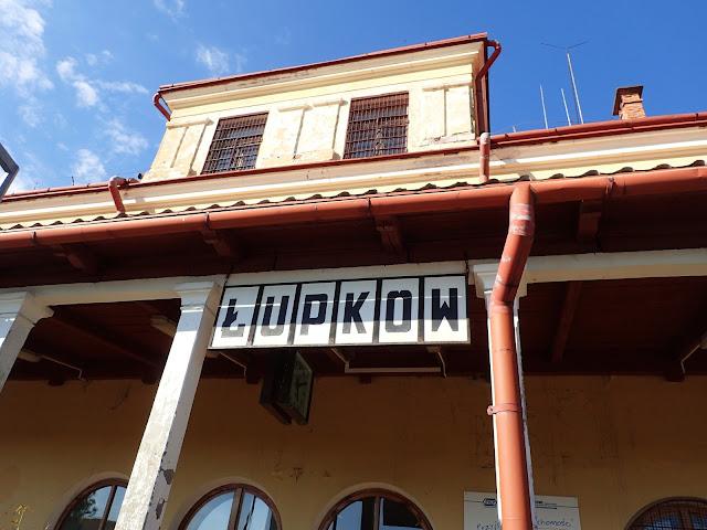 """Stacja """"Łupków"""" - nazwa dworca"""