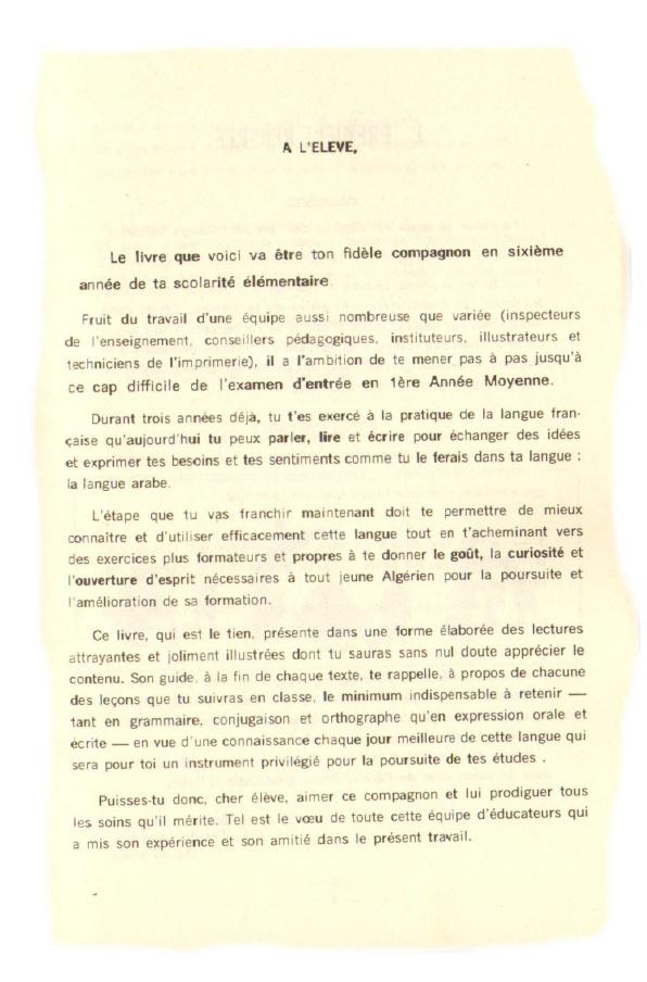 Manuels Anciens Lecture Et Langue Francaise 6e Annee D