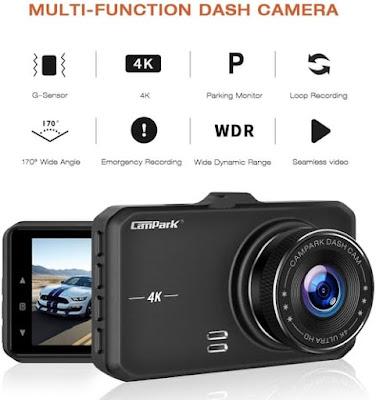 Campark DC10 Dash Cam Camera