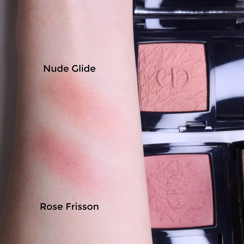 Dior Rouge Blush 468 Nude Glide swatch