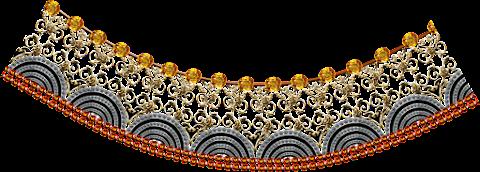 Textile-print-jwellery-curve-border-7014