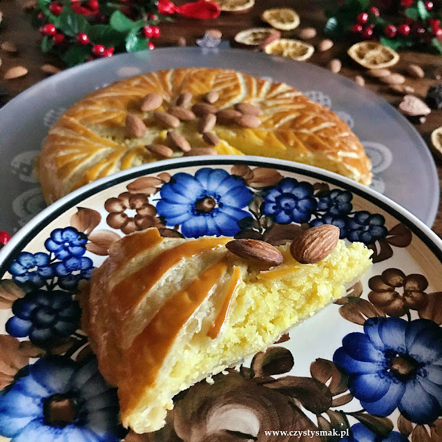 Migdałowe ciasto na Święto Trzech Króli