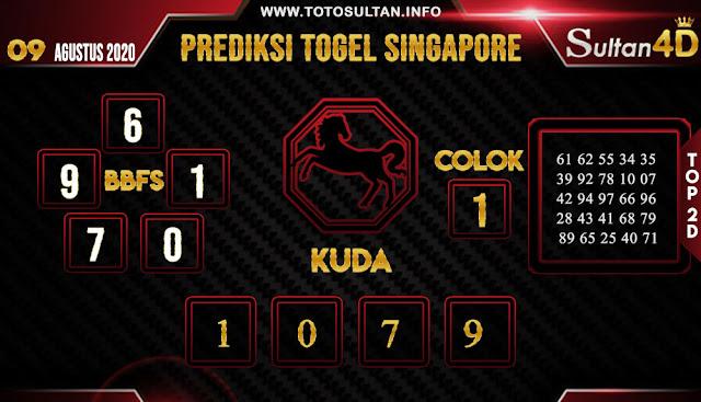 PREDIKSI TOGEL SINGAPORE SULTAN4D 09 AGUSTUS 2020