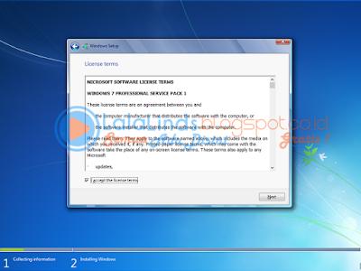 Cara Paling Mudah Install Windows 7 Lengkap