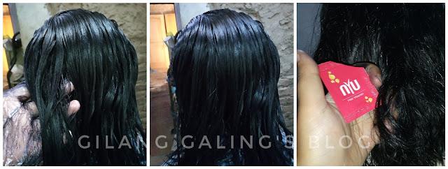 Proses pewarnaan rambut