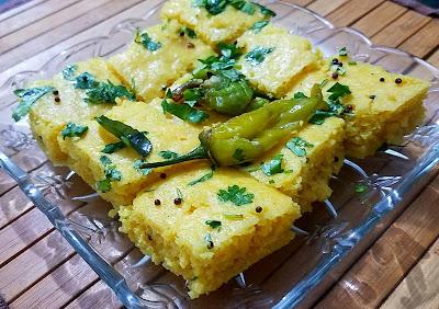 khaman dhokla recipe thehoggerz.com, dhokla recipe thehoggerz.com