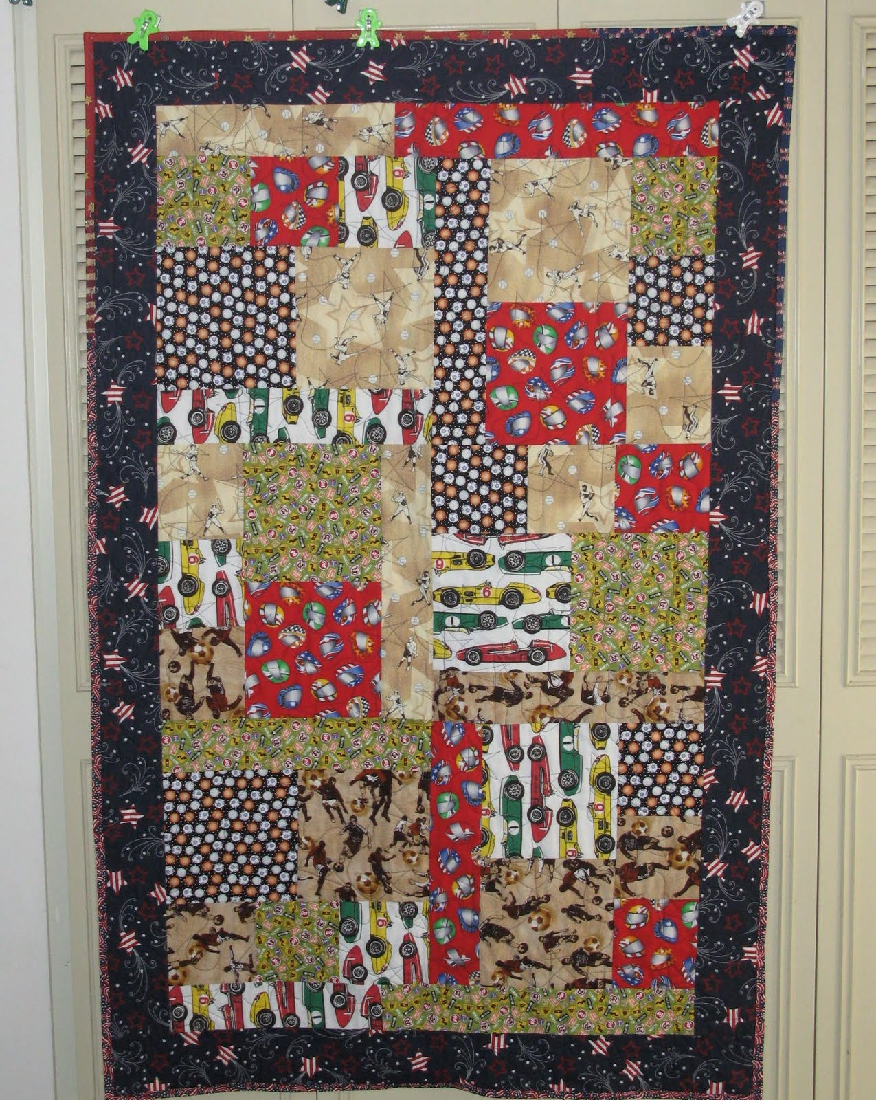 Life Is Like A Patchwork Quilt Six Fat Quarters