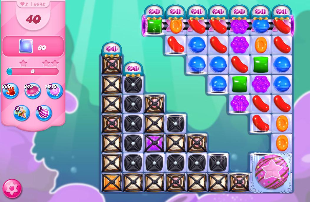 Candy Crush Saga level 8542