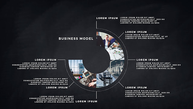 Infographic Business Model Presentation for PowerPoint Template Slide 8