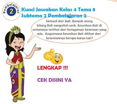 Kunci Jawaban Kelas 4 Tema 8 Subtema 2 Pembelajaran 2 www.simplenews.me