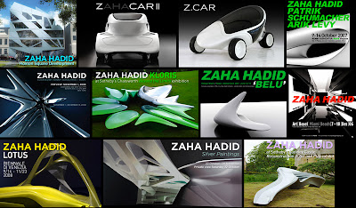 projects Zaha Hadid has created for ROVE