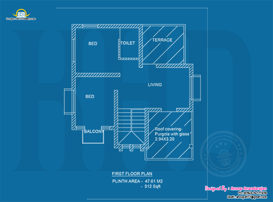 Blueprint First floor
