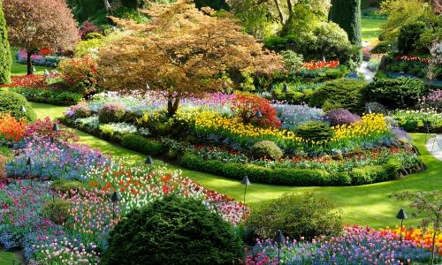 Butchart Garden, Vancouver