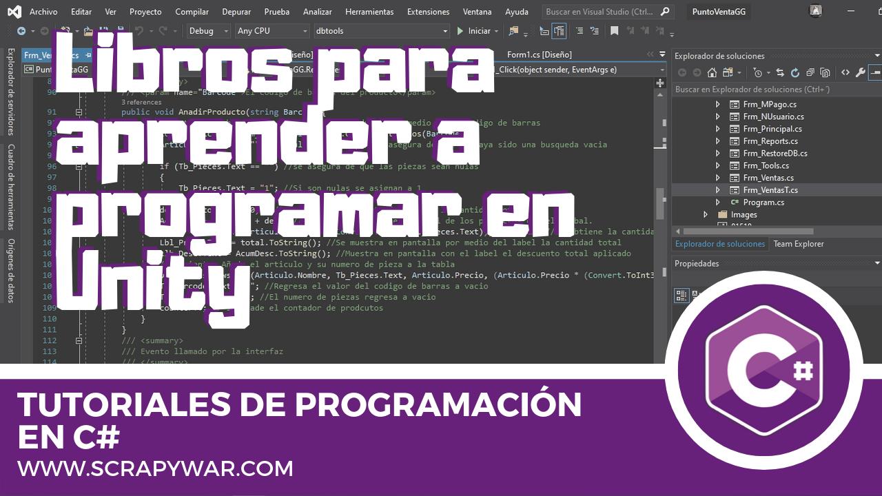 Libros para Aprender a programar en Unity Gratis